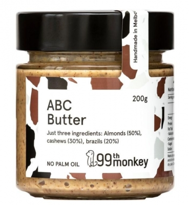 99th MONKEY ABC BUTTER 200g (NEW REDUCED PRICING)