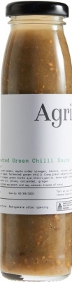 AGRI FERMENTED GREEN CHILLI SAUCE 200ml