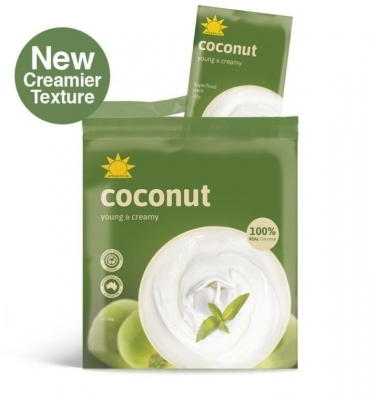 AMAZONIA COCONUT RETAIL PACKS (4x100g)