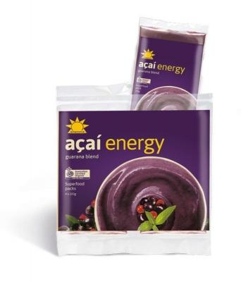AMAZONIA ORGANIC ENERGY RETAIL (4x100g)