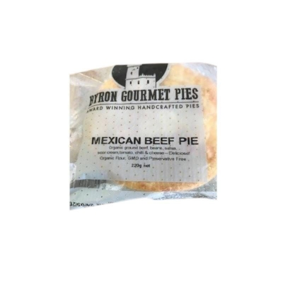 BYRON PIES MEXICAN BEEF 220g