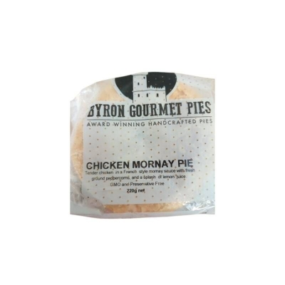 BYRON PIES CHICKEN MORNAY 220g