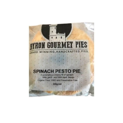 BYRON PIES SPINACH & PESTO 220g