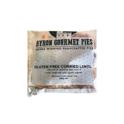 BYRON PIES GLUTEN FREE CURRIED LENTIL 220g