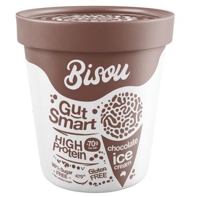 BISOU ICE CREAM CHOCOLATE 475ml