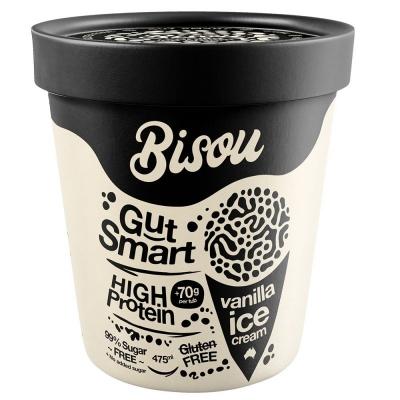 BISOU ICE CREAM VANILLA 475ml