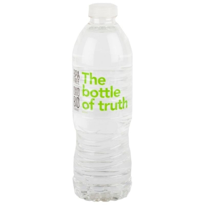 BOTTLE OF TRUTH WATER 600ml