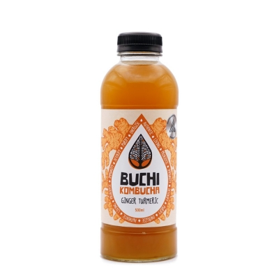 BUCHI - GINGER & TURMERIC KOMBUCHA 500ml