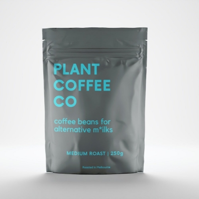 PLANT COFFEE CO MEDIUM ROAST 250g (BLUE)