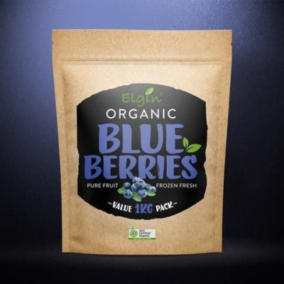 ELGIN - ORGANIC BLUEBERRIES 1KG