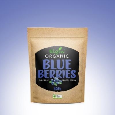 ELGIN - ORGANIC BLUEBERRIES 350g