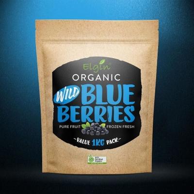ELGIN - ORGANIC BLUEBERRIES WILD 1KG