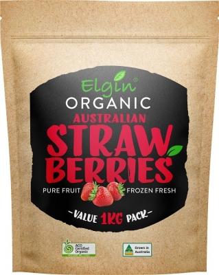 ELGIN - ORGANIC STRAWBERRIES 1KG