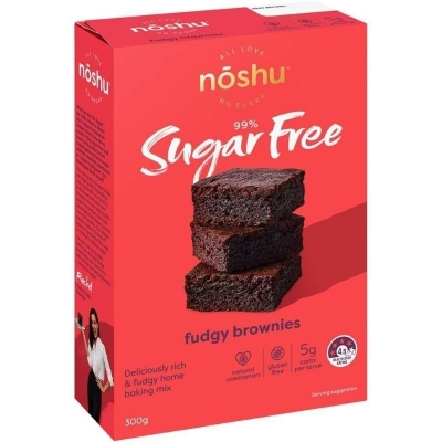 NOSHU FUDGEY BROWNIE MIX 300g