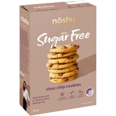 NOSHU DARK CHOC CHIP COOKIE MIX 300g