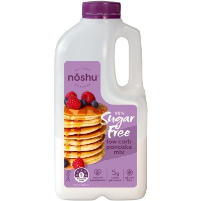 NOSHU PANCAKE LOW CARB MIX 240g