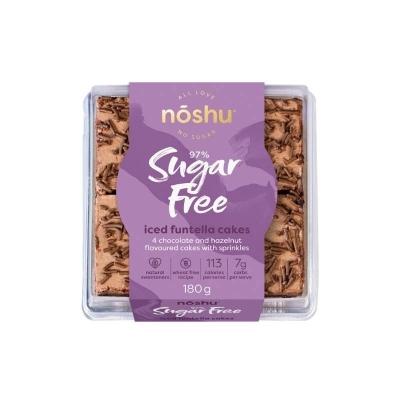 NOSHU ICED FUNTELLA CAKES 180g FROZEN