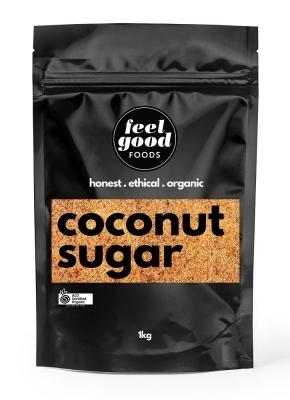 FEEL GOOD FOODS ORGANIC COCONUT SUGAR 1KG