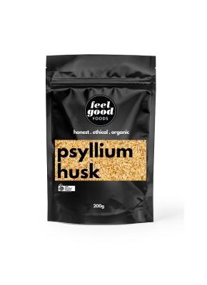FEEL GOOD FOODS ORGANIC PSYLLIUM HUSK 200g