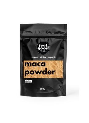 FEEL GOOD FOODS ORGANIC MACA POWDER 200g