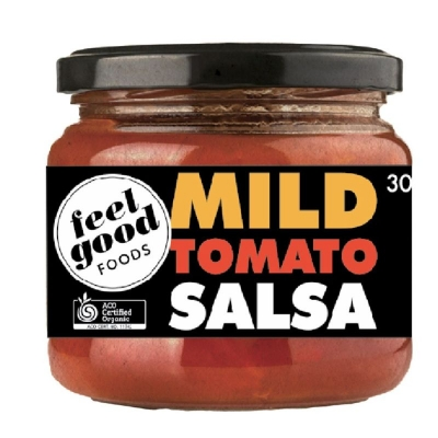 FEEL GOOD FOODS ORGANIC MILD SALSA 300g