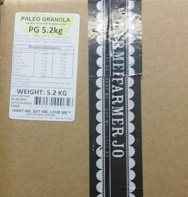 FARMER JO PALEO GRANOLA 5.2kg