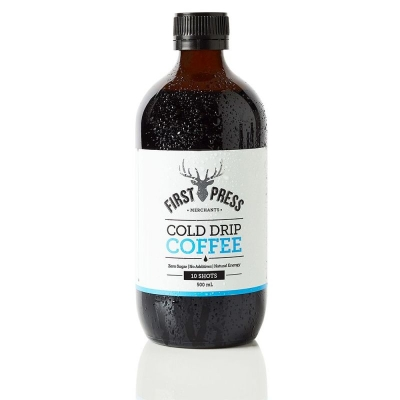 FIRST PRESS PURE BLACK COFFEE 500ml