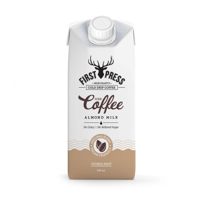 FIRST PRESS ALMOND MILK ICED COFFEE 350ml