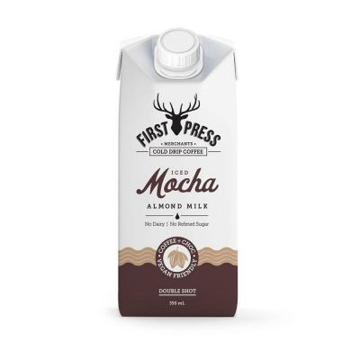 FIRST PRESS ALMOND MILK ICED MOCHA 350ml
