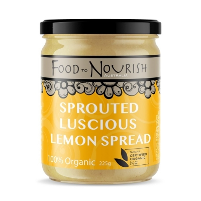 FTN SPROUTED LUSCIOUS LEMON SPREAD 225g