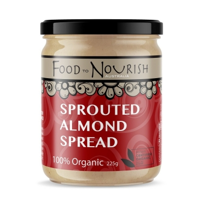 FTN SPROUTED ALMOND SPREAD 225g