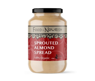 FTN SPROUTED ALMOND SPREAD 450g