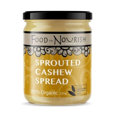 FTN SPROUTED CASHEW SPREAD 225g