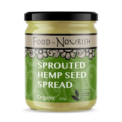 FTN SPROUTED HEMP SEED SPREAD 225g