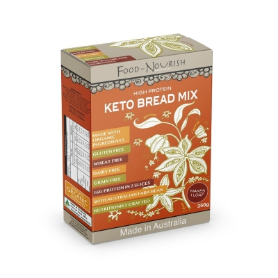 FTN KETO PROTEIN BREAD MIX 350g