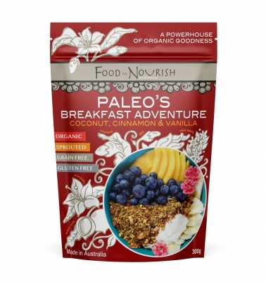FTN PALEO'S BREAKFAST ADVENTURE 300g (NEW SIZE REDUCED PRICE)