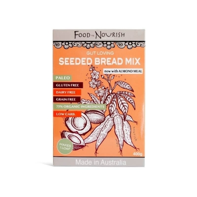 FTN PALEO SEEDED BREAD MIX 400g