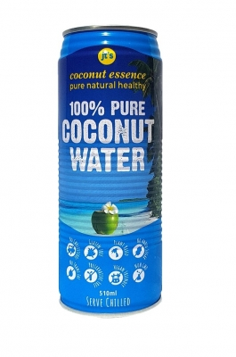 JT'S COCONUT WATER  CAN 510ml
