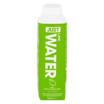 JUST WATER - LIME SPRING WATER 500ml