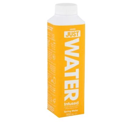 JUST WATER - LEMON SPRING WATER 500ml