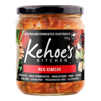 KEHOES NON-ORGANIC RED KIMCHI 410g