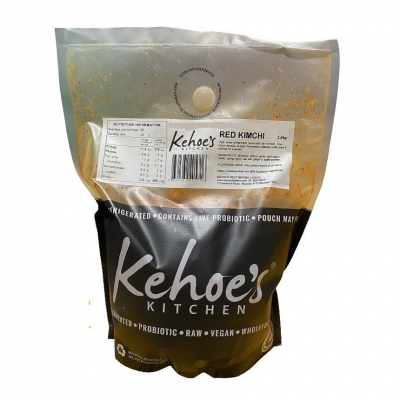 KEHOES ORGANIC KIMCHI 2KG POUCH