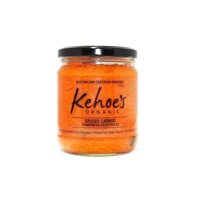 KEHOES ORGANIC SPICED CARROTS 410g