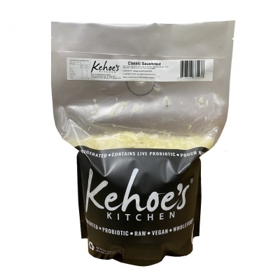 KEHOES FOODSERVICE -TRADITIONAL SAUERKRAUT 2KG POUCH