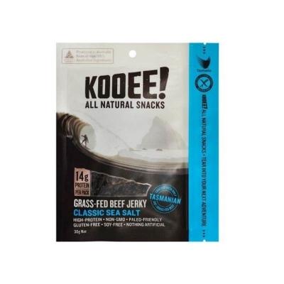 KOOEE BEEF JERKY CLASSIC SEA SALT 30g
