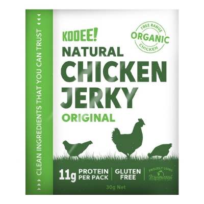 KOOEE ORGANIC CHICKEN JERKY - ORIGINAL 30g