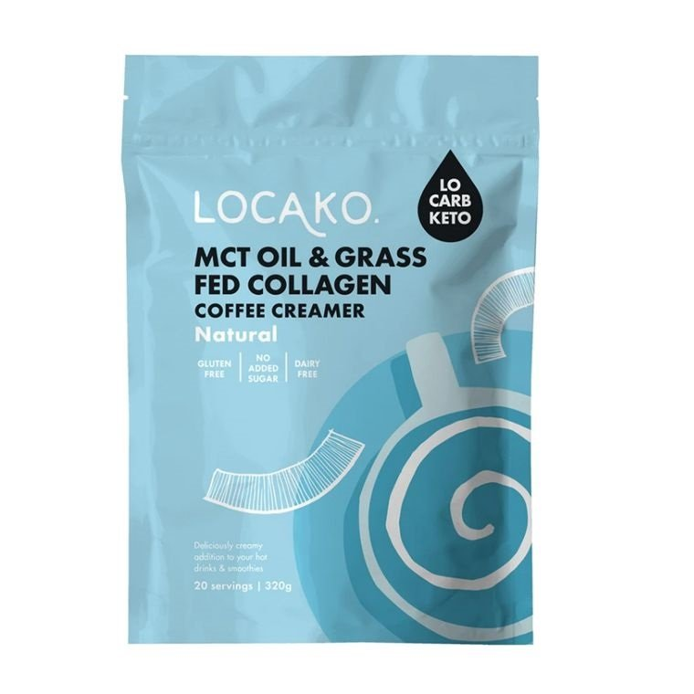 LOCAKO COFFEE CREAMER - NATURAL MCT & COLLAGEN 300g