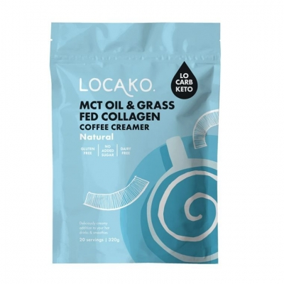 LOCAKO COFFEE CREAMER - NATURAL MCT & COLLAGEN 300g