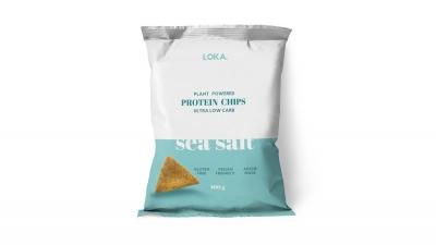 LOKA PROTEIN CHIPS - SEA SALT 100g