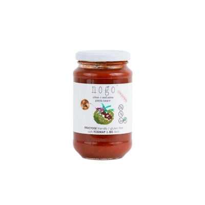 NOGO PASTA SAUCE - OLIVE + RED WINE 375ml